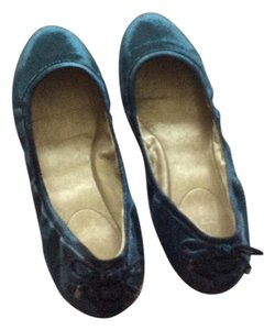 Cole Haan Blue shiny leather Flats