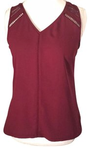 Express Top purple burgundy maroon