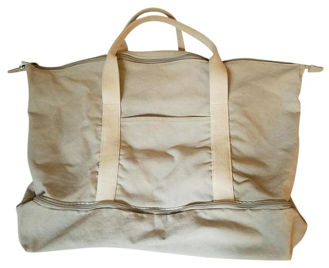 Item - Catalina The Dove Grey Canvas Weekend/Travel Bag
