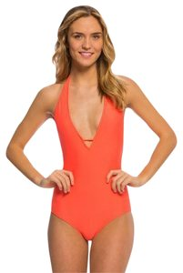 Body Glove Smoothies Mona One-piece Halter Swimsuit Tangy