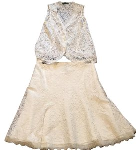 Ralph Lauren Lace Top and Skirt