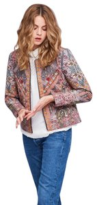 Anthropologie Quilted New W/ Tags New Hemant Nandita Multi-Colored Jacket