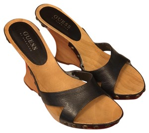 Guess By Marciano Black Wedges