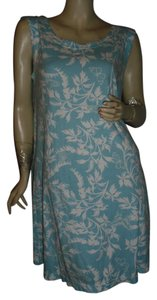 Crabtree & Evelyn short dress sky blue, turquoise on Tradesy