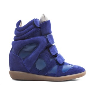 Isabel Marant Colbalt Blue Wedges