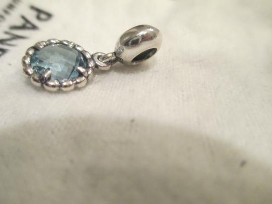 Pandora Cool Breeze With Blue Topaz Dangle For Sale