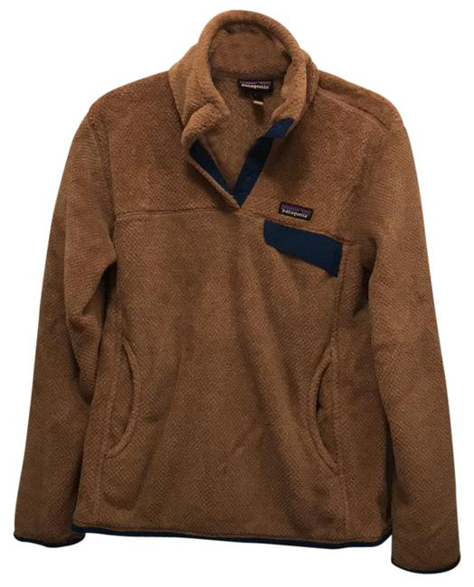 Item - Brown and Blue Pullover Activewear Size 12 (L)