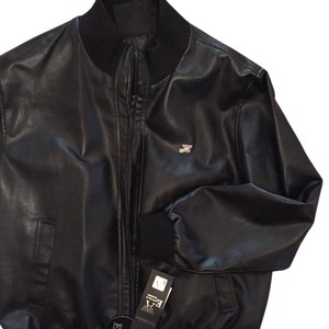 Italian Men's Leather Jacket Top