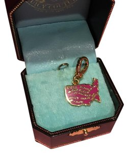 Juicy Couture NEW!! JUICY COUTURE EXTREMELY RARE PINK USA MAP CHARM