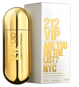 Carolina Herrera 212 VIP by Carolina Herrera 2.7 oz / 80 ml EDP Spray for Woman.New.