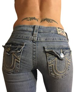True Religion Skinny Jeans-Distressed