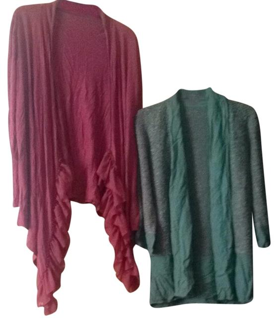 Preload https://item4.tradesy.com/images/soft-surroundings-cardigan-rose-and-green-2131578-0-0.jpg?width=400&height=650