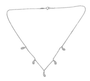 Tiffany & Co. Tiffany & Co 925 Sterling Silver Elsa Peretti 5 Teardrop Necklace 16