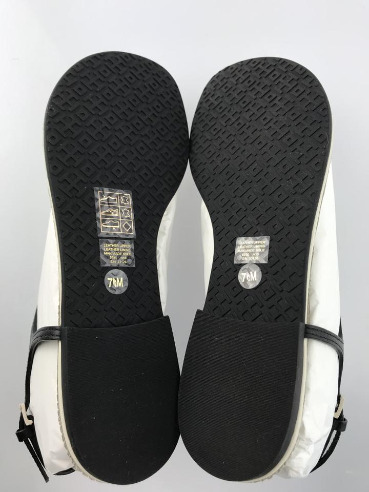 25e7f295b Tory Burch Black Bleach Black - 890 Miller Fringe Flat Sandals Size ...