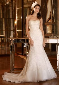 David's Bridal Bnwt Galina Signature Swg400 Wedding Dress