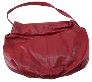 NICOLI Leather Hobo Bag
