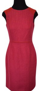 Banana Republic short dress pink/red on Tradesy