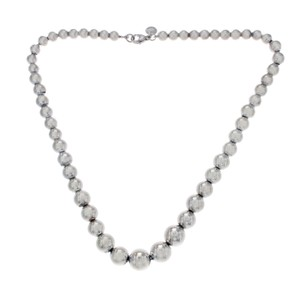 Tiffany & Co. Tiffany & Co 925 Sterling Silver Ball Bead Necklace Size 16