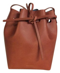Mansur Gavriel Bucket Leather Shoulder Bag
