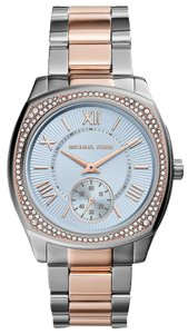 Michael Kors Michael Kors MK6136 Bryn Blue Dial Two Tone S\S Women's Watch