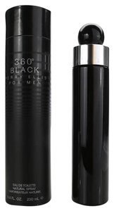 Perry Ellis 360 BLACK by Perry Elis 6.8 oz/ 200 ml EDT Spray for Men,New in box