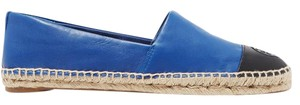 Tory Burch Casual Comfortable Leather Leather Cobalt blue Flats