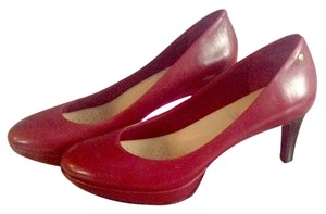 Rockport Leather Comfortable Wine Pumps
