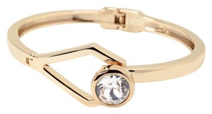 White House | Black Market double hinge cuff with crystal from Swarovski