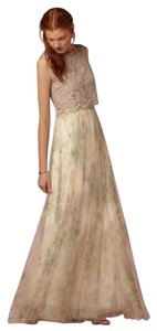 Jenny Yoo Tulle Women's Fashion Wedding Bridesmaid Maxi Skirt Ivory, sage, multi