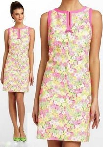 Lilly Pulitzer short dress PERCY SUNBONNET LACE on Tradesy