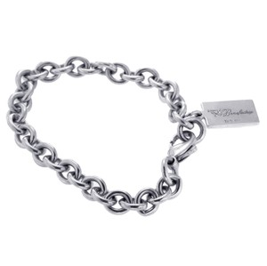 Tiffany & Co. Tiffany & Co 925 Sterling Silver Society Benefactix Bracelet Size 7