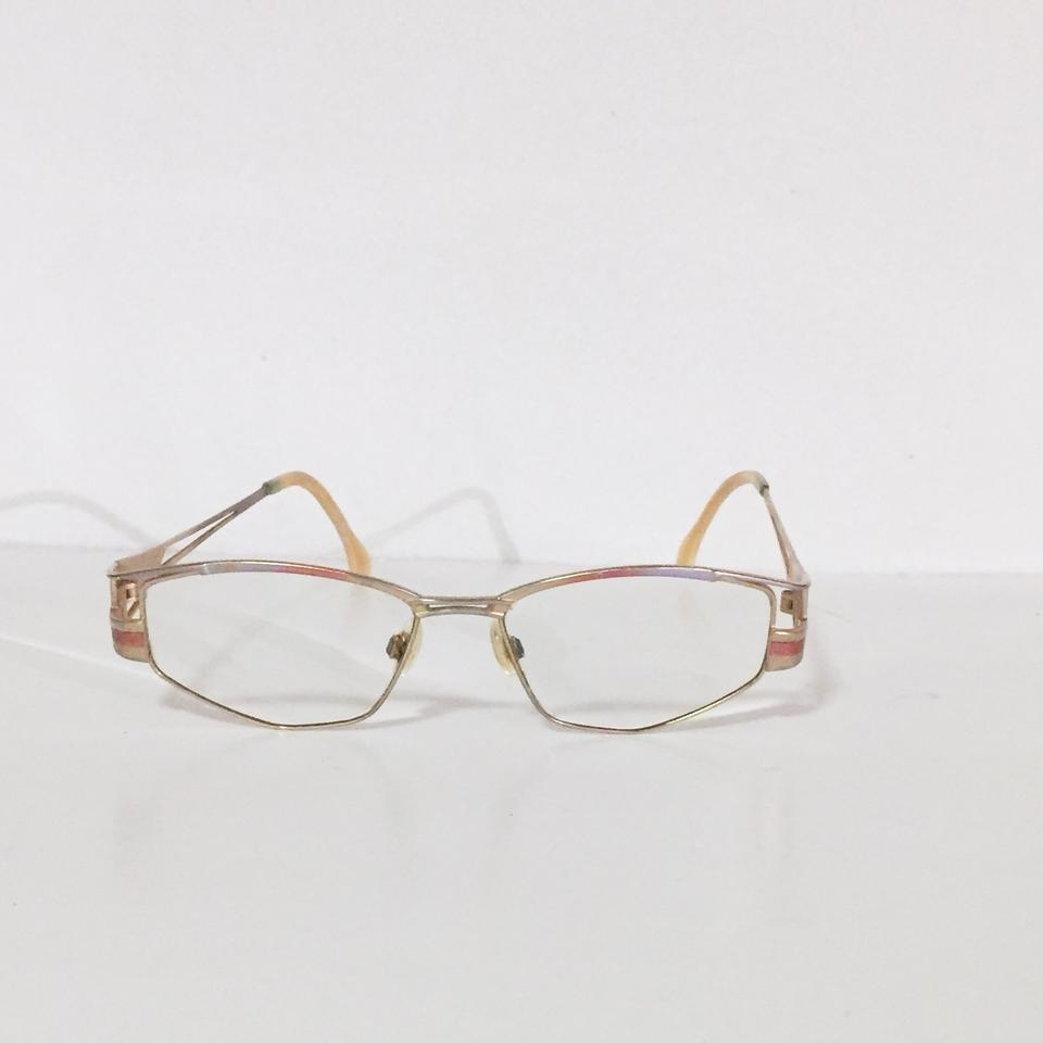 6a4f747c819 Cazal Gold Very Vintage Prescription Rare Pastel Classic Eyeglass ...