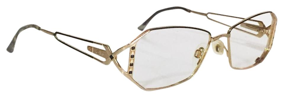 Cazal Vintage Frames No Glass Fashion Eyewear Rare Gold Sunglasses ...