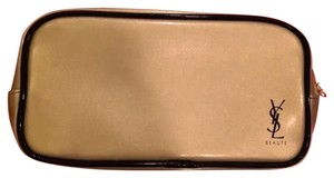 Saint Laurent Saint Laurent NWT Gold Hard To Find Cosmetic Bag