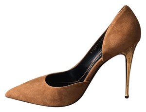 Tom Ford gold brown Pumps