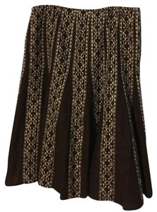 Style & Co Skirt Brown
