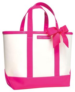 Juicy Couture Promo Neon Lace Tote in white