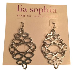 Lia Sophia Lia Sophia Mirror Mirror Silver Earrings