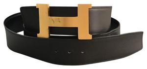Herms 42mm unisex Reversible Leather Belt