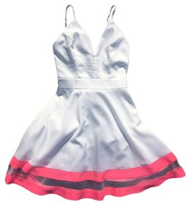 Other short dress White/PInk Tea N Cup Tea N Cup Fit/flare Tea N Cup Tea N Cup Mini-szs Tea N Cup White Szs on Tradesy