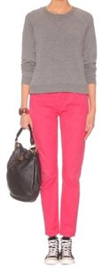 Citizens of Humanity Cropped Coral Summer Skinny Jeans