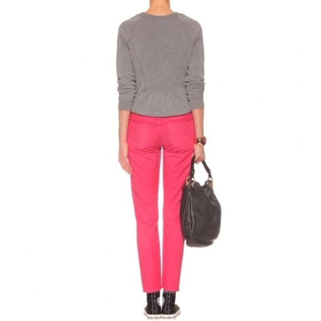 Citizens of Humanity Cropped Coral Summer Skinny Jeans Image 1