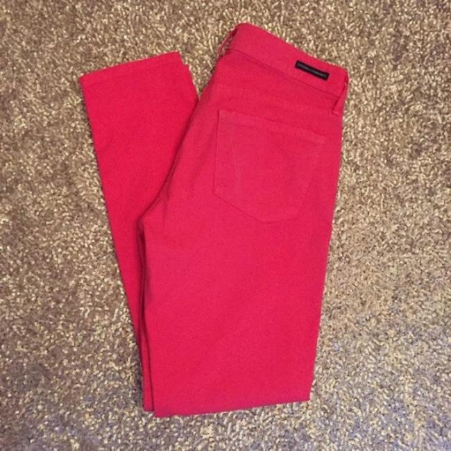 Citizens of Humanity Cropped Coral Summer Skinny Jeans Image 2