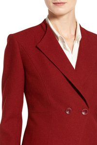 Classiques Entier Madrina Double Breasted Peplum 2 Button Red Red Sun Blazer