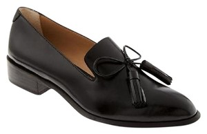 Banana Republic Tassels Loafer Leather Black Flats