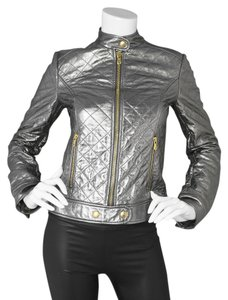 Dolce&Gabbana Dolce & Gabbana D&g Leather Moto Motorcycle Jacket