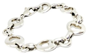 Tiffany & Co. Tiffany & Co. Sterling Silver Stencil Cutout Heart Bracelet