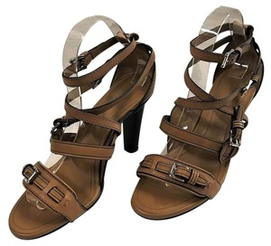 Tod's Buckle Strappy Browns Sandals