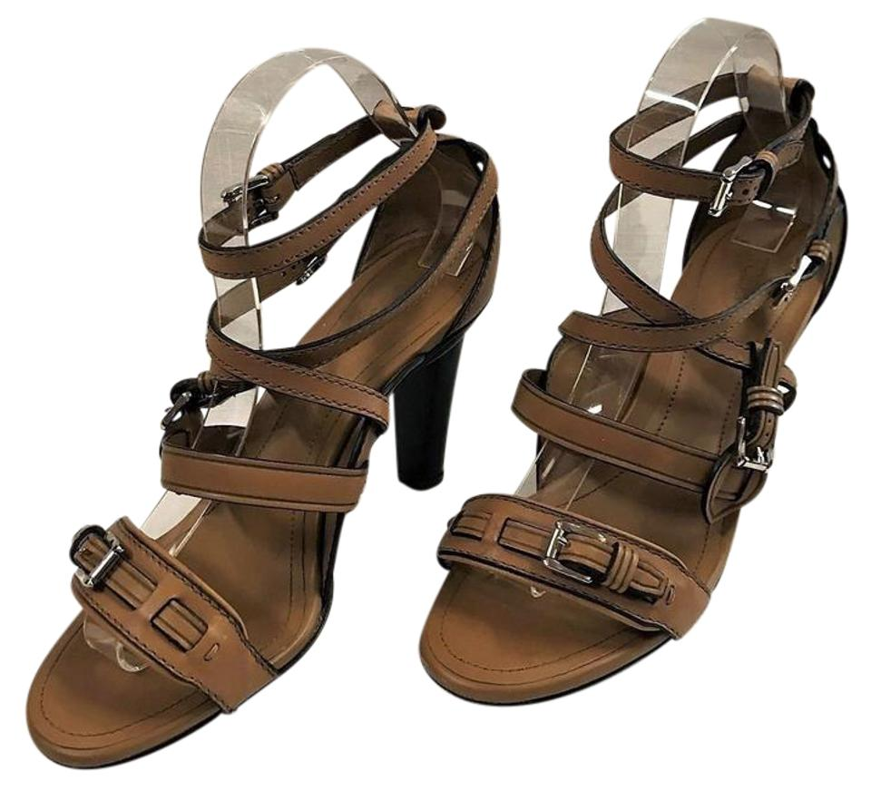 Tod's Browns Browns Tod's Cameron Buckled High Sandals 06aa8b