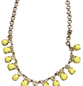 J.Crew Lime Necklace